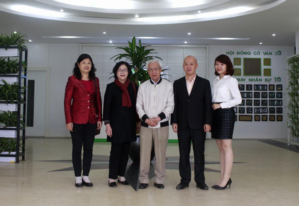 Mầm non Quốc tế IQ vinh dự được tiếp đón GS Hồ Ngọc Đại, PGS Trần Lưu Vân Hiền, TS Ngô Thị Tuyên tới gặp mặt và kiểm tra chất lượng đào tạo tại trường.